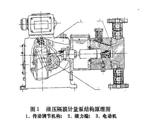 计量泵结构